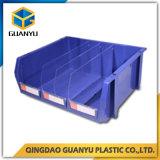 Caixas de armazenamento Stackable da proteção industrial Stackable clara do produto dos escaninhos de armazenamento
