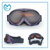 Quadratischer grauer PC Spiegel-Sport- Produkt-Snowboarding-Schutzbrillen