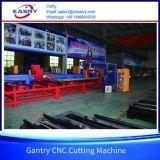 Машина стального вырезывания профиля луча CNC h изготовления скашивая с kr-Xh кислородной резки плазмы