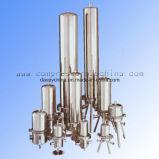 Filtragem de alta eficiência para limpar e ar comprimido isento de óleo