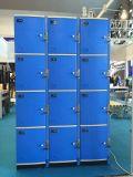 Дверь 4 каждый локер ABS колонки пластичный для пляжа