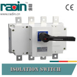 125A, 160A, 200A, 250A, 315A, 400A, 500A, interruptor de ruptura de carga 630A/interruptor carga da comutação