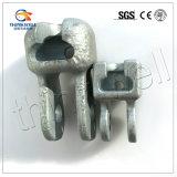 Ojo de acero galvanizado horquilla forjado del socket del socket