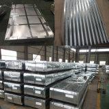 Galvanisierte Stahlbleche/runzelten Blatt-China-Dach-Material 0.14mm