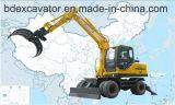Cargador del registro del cargador de la caña de azúcar de los excavadores 8.5ton de Baoding