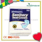 Coiffe de siège de toilette en papier jetables (pH1285)