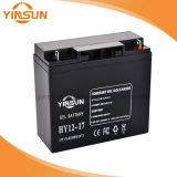 12V 17ah Solarbatterie für Sonnenkollektor-Beleuchtungssystem