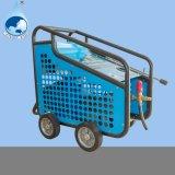 4개의 바퀴를 가진 전기 시작 고압 세탁기