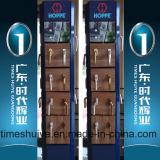 Innenbadezimmer-Tür und Dusche-Tür mit Hartglas