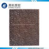 Calidad de plástico de hoja de diamante de policarbonato con protección UV