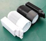 45W de alto CRI pista LED de luz con el controlador de Non-Flicker