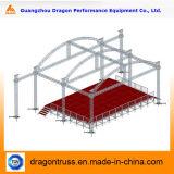 アルミニウムによって曲げられる屋根のトラス400*400mm