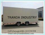 Chiosco in tutto il mondo del carrello e carrelli automatici di vendita della via del carrello di trasporto
