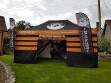 3X6m, 4X8m, tenda pieghevole di alluminio di evento di Retartant del fuoco per la mostra