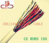 Cable de LAN al aire libre Cat5e UTP Cable de teléfono de 25 pares 24AWG
