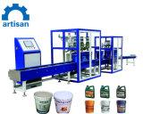Máquina de enchimento de tambores de óleo com o transportador na China máquina de enchimento do óleo da caçamba