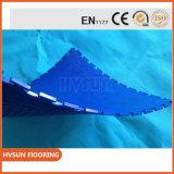5mm de espesor exposición Blanco Garaje Pavimento antideslizante Mat para cochera