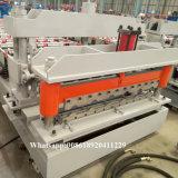 Le métal rouge conçu neuf a glacé la machine personnalisée par feuille de toiture de tuile