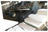 Impresión de papel y frío de alta velocidad de Flexo del carrete que pegan la cadena de producción obligatoria para el cuaderno del diario del estudiante del libro de ejercicio
