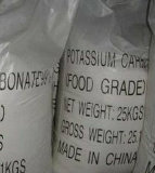 Additieven voor levensmiddelen 99% van het kalium van het Carbonaat (K2CO3)