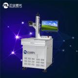 Máquina da marcação do laser do metal da fibra com Ce, certificados do ISO
