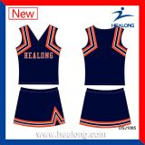 Healong schnelle trockene Polyester-Digital-Druck-Kleidungs-Cheerleader-Uniform