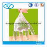 Устранимые перчатки PE пищевой промышленности пластичные