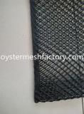 2つの側面の開いたカキの網袋