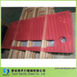 5mm (aangemaakte) Toughened Decorative Glass Panel voor Warm Air Blower met Red Printing