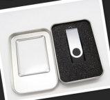Lecteur flash USB d'émerillon 128MB 1GB avec le cadre en métal pour les cadeaux promotionnels bon marché