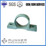 Части снабжения жилищем цилиндра заливки формы точности OEM с подвергать механической обработке CNC