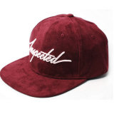 卸し売りスエードの帽子の刺繍6のパネルの急な回復の帽子