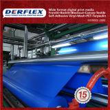 Revestimento revestido de PVC em tecido revestido de PVC para lonas resistentes a UV de tecido