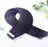 unità di elaborazione brasiliana Skin Tape Hair Extension di 8A Virgin Human Invisible