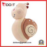 Animal enchido animal do luxuoso bonito do brinquedo do luxuoso do caracol En71