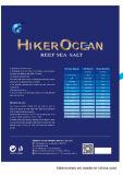 El océano del caminante enriqueció la sal marina del mar de la sal del mar del filón
