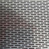 Lamina di metallo perforata scanalata galvanizzata del foro