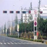 Signal de la circulation routière de la rue perche en acier