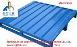 Palets de acero durable apilable para paletización Depósitos