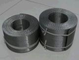 Tela de engranzamento tecida holandesa do fio do reverso do aço inoxidável