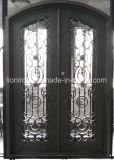 Portello di entrata residenziale dei portelli di obbligazione del ferro saldato di prezzi bassi