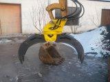 Вращающийся захват плотно прилегает к мини-экскаватор 2-10 тонн