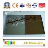 4mm、5mm、6mm、8mm、10mmの反射フロートガラス上塗を施してあるまたはガラス染められるか、またはカーテン・ウォールのために使用されて
