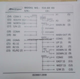 дистанционное управление 433MHz F24-8d Telecrane Radio для новой вагонетки подъема крана, мостового крана, крана Eot, надземного крана