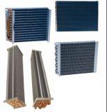 Chile Mercado bobina de cobre del tubo de aluminio de la aleta del evaporador / condensador