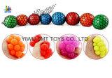 65mm juguetes de plástico Cambiar los colores de la uva bola bola Squish Squeeze juguetes con tapa