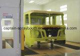 De grote Machine van de Lijn van de Deklaag, de Lange Cabine van de Verf van de Nevel van de Bus