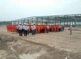 Estructura prefabricada de acero de construcción de almacenes