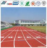 Pista corrente di gomma atletica dell'unità di elaborazione del professionista ecologico con il certificato di Iaaf
