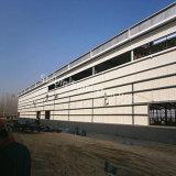 Vor ausgeführtes Stahlrahmen-Gebäude von den Berufsfremdfirmen
